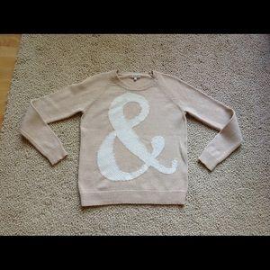 Madewell Ampersand Sweater